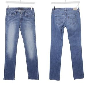 Levi's Jeans Slight Curve Straight Leg Medium Wash